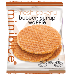 Butter Syrup Waffles XL